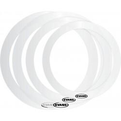 Evans - E-Rings krążki tłumiące Rock 10''-16''