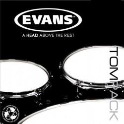Evans - naciągi G1 Clear TomPack Fusion zestaw 10'' 12'' 14''