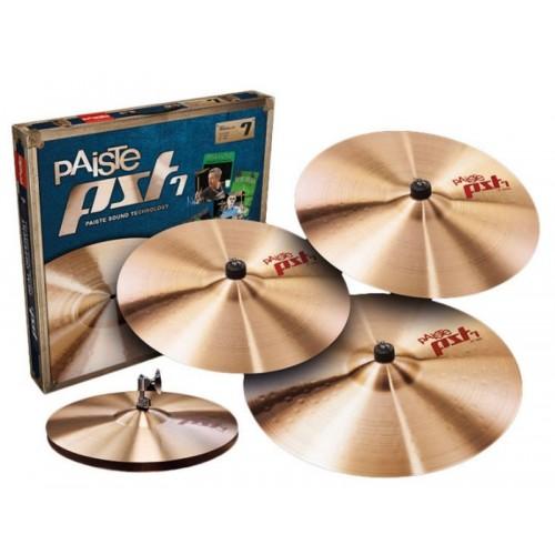 "Paiste - Zestaw talerzy PST7 Medium Promo Pack 14"" 16"" 20'' + 18"""