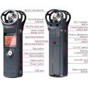 Zoom - Dyktafon cyfrowy / Rejestrator audio H1 Recorder