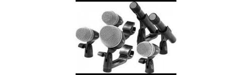 Mikrofony, statywy