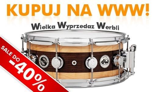 Wielka Wyprzedaż Werbli w drumshop.pl