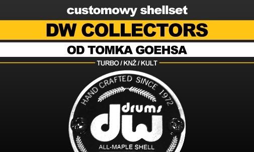 DW - perkusja Collectors należąca do Tomka Goehsa (Kult, KNŻ, Turbo)