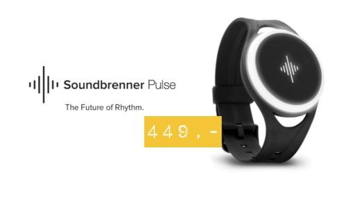 Soundbrenner Pulse - Metronom wibracyjny