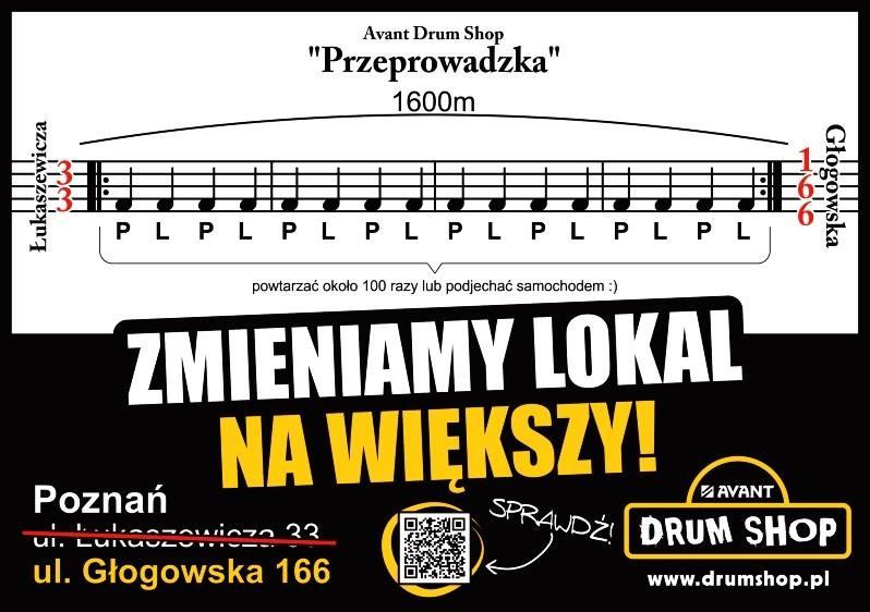 Nowy większy lokal Drumshop.pl!