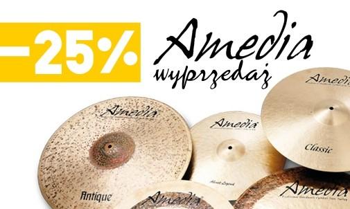 Wyprzedaż ekspozycji Amedia -25%