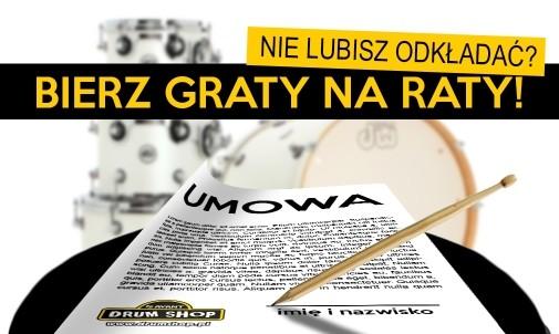 Kup perkusję na raty na dogodnych warunkach w drumshop.pl