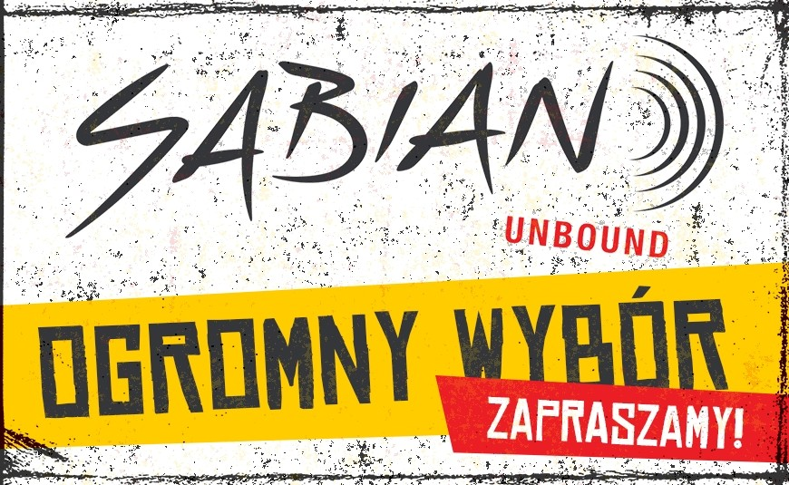 Ogromny wybór talerzy Sabian od ręki w Avant DrumShop