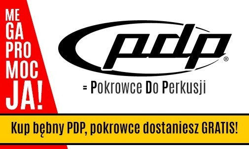 Darmowy zestaw pokrowców do każdej perkusji PDP dostępnej w drumshop.pl!