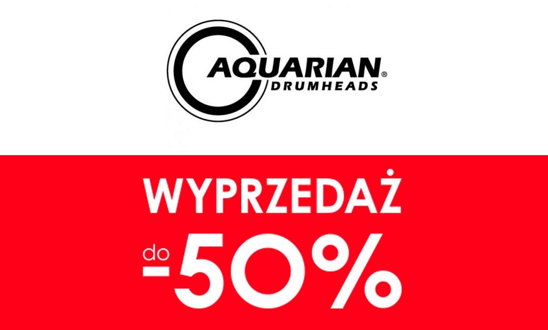 Wyprzedaż Aquarian w drumshop.pl