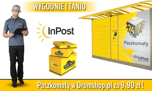 Od października w drumshop.pl tania wysyłka do Paczkomatu!