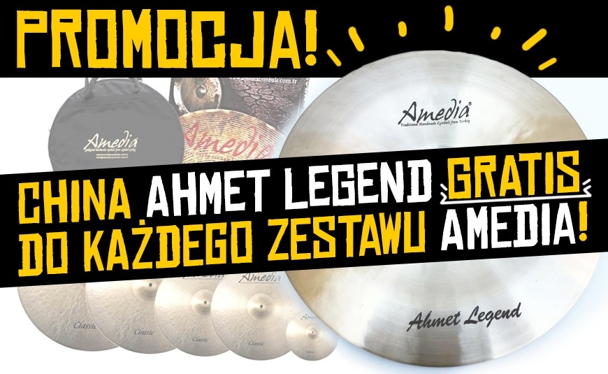 "China Ahmet Legend 10"" Gratis do zestawu talerzy Amedia"