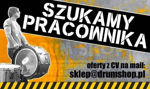 Avant Drum Shop szuka pracownika!