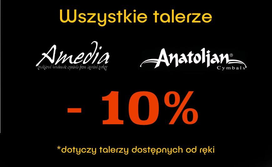 Wszystkie blachy Amedia i Anatolian o 10% taniej!