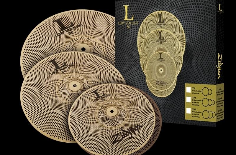 Zildjian Low Volume 80 - ciche talerze do gry w domu!