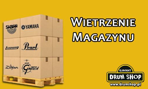 Wietrzenie magazynu w drumshop.pl. Ceny obniżone nawet o 50%!